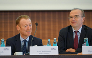 Paul Robinson (Bank of England) and Hans-Helmut Kotz (SAFE)