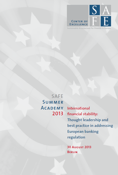 SAFE Summer Academy 2013 - brochure