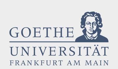 Logo der Goethe Universiät